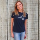 Adult Tee Navy Blue (Female Fit)