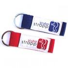 Key ring - Blue & red (2 Pack)